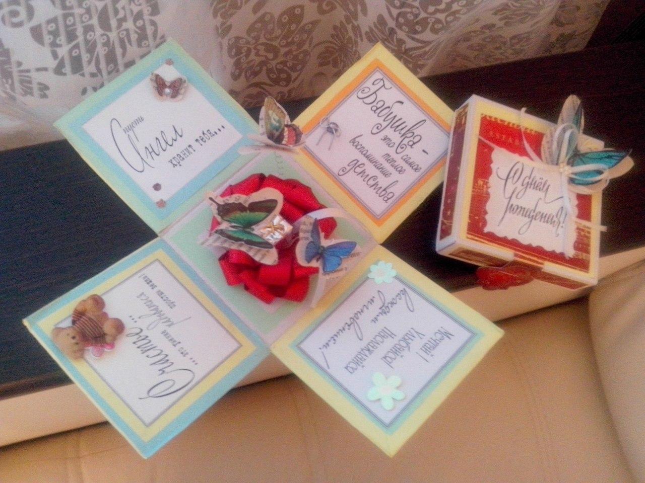 Подарки для дочки на день рождения своими руками